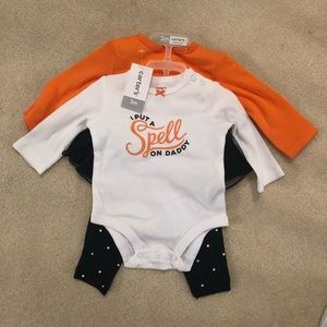 Carters baby Halloween outfit